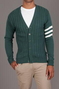 Jed Clothing The Varsity Cardigan