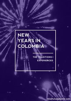 I spent New Year's in Medellin, Colombia! Check out the new traditions I took part in and which ones I'll carry on in the future!