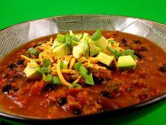 Vegan slow cooker chili