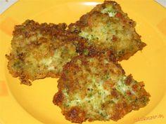 Brokolicové placky | Mimibazar.sk Quiche, Pancakes, Chicken, Meat, Breakfast, Food, Morning Coffee, Essen, Quiches