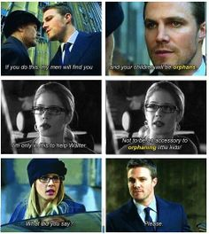 Arrow - Felicity & Oliver #Season2 #Olicity