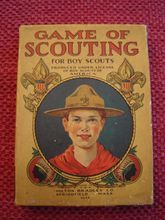 Rare Milton Bradley 1930's Game of Scouting Card Game #4648