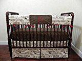 Nursery Bedding Bumperless Baby Crib Bedding Set Mathis Baby Boy Bedding Crib Rail Cover Cowboy Baby Bedding Western Nursery Bedding  Choose Your Pieces