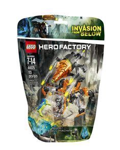 Amazon.com: LEGO Hero Factory Bulk Drill Machine 44025 Building Set: Toys & Games