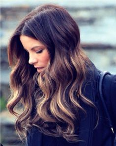 Brown ombre hair color, wonderful balayage hairstyle, trend of 2015 summer