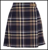 Oasis Check Skirt.