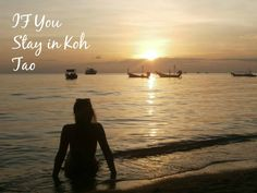 Are you thinking about visiting Koh Tao in Thailand? I know just the place for you to stay Koh Tao, Free Blog, Southeast Asia, Thinking Of You, Thailand, Sunset, Beach, Places, Travel