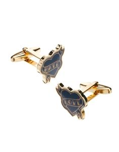 ASOS Cufflinks With Love Hate