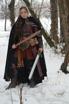 Ooo this is how I would love Waryn to look in the North. But different colors