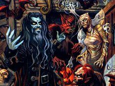 I love this Rob Zombie art. ^_^