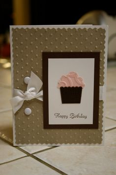 Stampin' Up Birthday Handmade Greeting Card by smilewhilestampin, $2.50