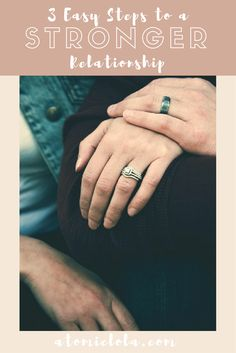 Strengthen your relationship by showing affection, communication, and reflecting on your feelings.flection.