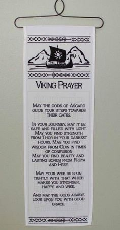 Viking Prayer Wall Hanging Ceramic ship prow wall hanging of a ship's by…chaser- crow. Week Tonight with John Oliver: Border Wall…Sport of Thrones Night time's Watch Oath Wall…Game of Thrones Night's Watch Oath Wall Decal…Viking phrases Norse Runes, Norse Pagan, Norse Mythology, Tatto Viking, Viking Tattoos, Wiccan Tattoos, Viking Life, Viking Art, Viking Woman