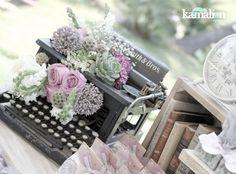 www.kamalion.com.mx - Mesa de Dulces / Candy Bar / Wedding / Boda / Lila & Gris / Lilac & Gray / Vintage / Rustic Decor.