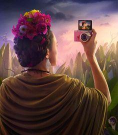 Selfie de pintors / Selfie de pintores / Selfie of painters