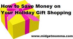 How To save money on your holiday gift shopping
