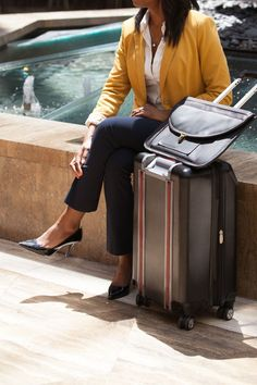 """This stair climbing suitcase takes the """"lug"""" out of """"luggage"""""""