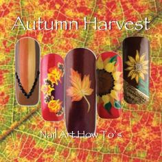 Nail Art How To: 5 Awesome Autumn Themed Nail Tutorials!