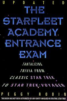 Starfleet Academy Entrance Exam: Tantalizing Trivia from Classic Star Trek to Star Trek: Voyager @ niftywarehouse.com #NiftyWarehouse #StarTrek #Trekkie #Geek #Nerd #Products
