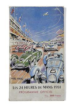 Programme ancien original officiel 24 heures du mans 1955 for Garage paris ouest argenteuil