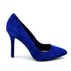 db66d5311ca1 ADENI INDIGO PURPLE KIDSUEDE - High Heels - Shoes - Jessica Simpson -  Official Site  Royal Blue Pumps ...