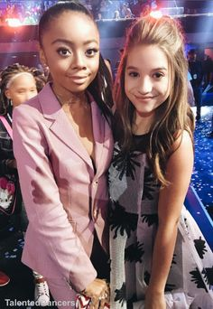 Mackenzie and Skai Nickelodeon Kids' Choice Awards [03.16.16]
