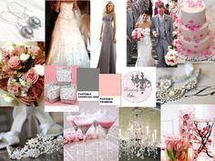 Pink & Grey Romance