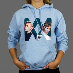 Marcus & Martinus hoodie, pes, sizes S-XXL, 185 gr. Hoodies, Sweatshirts, 50th, Mac, Iron, Celebrities, Link, Clothing, Sweaters