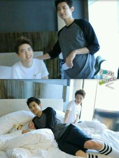 exo Kyungsoo and Chanyeol in honeymoon Kaisoo, Chanbaek, Kyungsoo, Park Chanyeol, Exo Couple, Ko Ko Bop, Xiuchen, Do Kyung Soo, Exo Memes