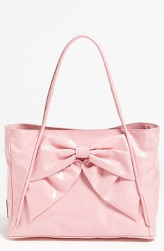 Valentino 'Betty Lacca Bow - Small' Tote available at #Nordstrom
