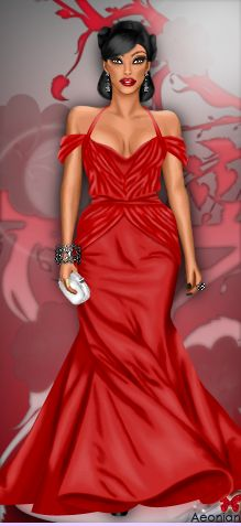Black gown dress up games