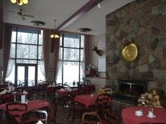 glacier park lodge bc -   I have great windows and a great ceiling to work with. No more red, paint the furniture white. Update the fireplace.. but how I am undecided right now. It needs to be a focal point. This is a mountain lodge after all.
