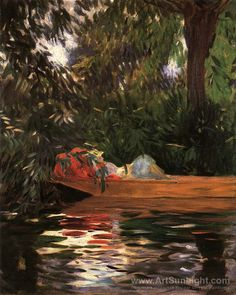 John Singer Sargent ~ Under the Willows 1887