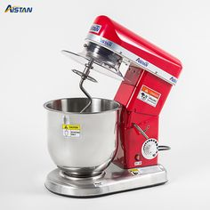 electric planetary food mixer machine blender spiral bread dough mixer egg beater with dough hook removable bowl - Best Electronics Market Electric Foods, Egg Beaters, Food Stands, Egg Whisk, Kitchen Aid Mixer, Commercial Kitchen, Pizza Dough, Kitchen Flooring