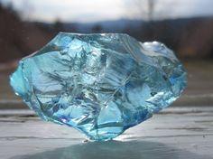 Aqua Aura Crystal from Brazil