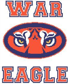 85 best auburn images on pinterest punto de cruz needlepoint and rh pinterest com Auburn Tiger Mascot Auburn Tigers Football