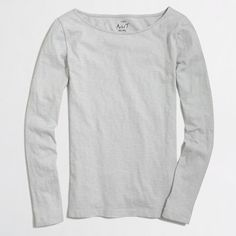 J.Crew+Factory+-+Factory+long-sleeve+artist+T-shirt
