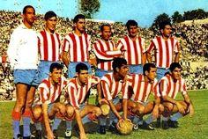 EQUIPOS DE FÚTBOL: ATLÉTICO DE MADRID contra Deportivo de La Coruña 04/10/1964