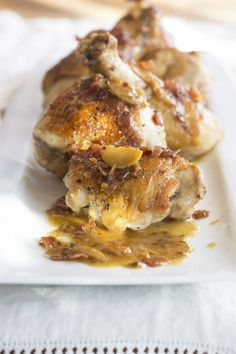I was thumbing through one of my cookbooks written by a restaurant chef and noticed there wasn't one recipe for chicken. I wasn't that surprised since chicken isn't considered very glamorous by mos...