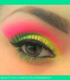 Twisted Watermelon | Letzy A.'s (letzlovesmakeup) Photo | Beautylish