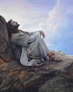 Faith Prayer, God Prayer, Peace Prayer, Pictures Of Jesus Christ, Images Of Christ, Lds Art, Jesus Painting, Jesus Christus, Jesus Is Lord