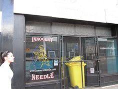 Innocent Needle Tattoo Art Croydon London, England, Tattoo Art, Locker Storage, Tattoos, Tatuajes, Tattoo, English, British