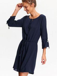 SUKIENKA DAMSKA GŁADKA Cold Shoulder Dress, Chanel, Model, Tops, Dresses, Fashion, Vestidos, Moda