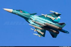"""Russian Air Force Sukhoi Su-34 """"Fullback"""" Su 34 Fullback, Air Force Aircraft, Russian Air Force, Sukhoi, Military Aircraft, Airplanes, Weapons, Fighter Jets, Surface"""