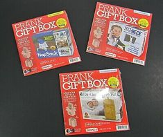 Shower Barista Prank Box for Adult or Kids Inc Prank Gift Boxes Empty Pra...