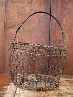 Farm baskets are a must have...in your vignettes  displays...to carry to the farmers market... more..