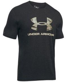 UNDER ARMOUR Under Armour Men'S Camo-Logo T-Shirt. #underarmour #cloth #shirts