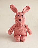Long Eared Bunny Free Knit Pattern