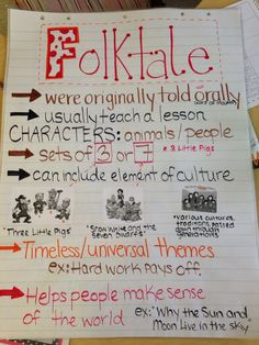 Folktales Anchor Chart Made for Third Grade but can be used in all of elementary grades! Reading Lessons, Reading Skills, Teaching Reading, Teaching Ideas, Reading Strategies, Reading Games, Reading Fluency, Study Skills, Writing Skills