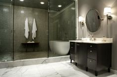 Wet room design.
